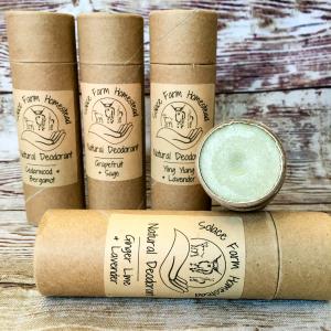 All-Natural Deodorants
