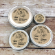 4 Sizes of Grass-fed Tallow Salve in Metal Tins, 1/2 ounce to 4 ounce