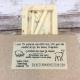 Ingredients label of goat milk and lard soap