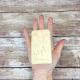 Lavender Goat Milk & Lard Soap in Woman's Hand for Scale