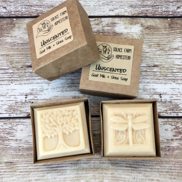 Handmade Goat Milk Soap, Tree of Life - Handmade Handcrafted Soap for Gifts, 2 oz Artisan Guest Soap and Wedding Favor