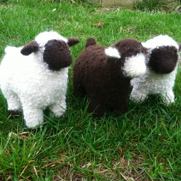 Felted Stuffed Animal