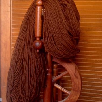 Handspun Alpaca Yarn, Worsted 900 yds